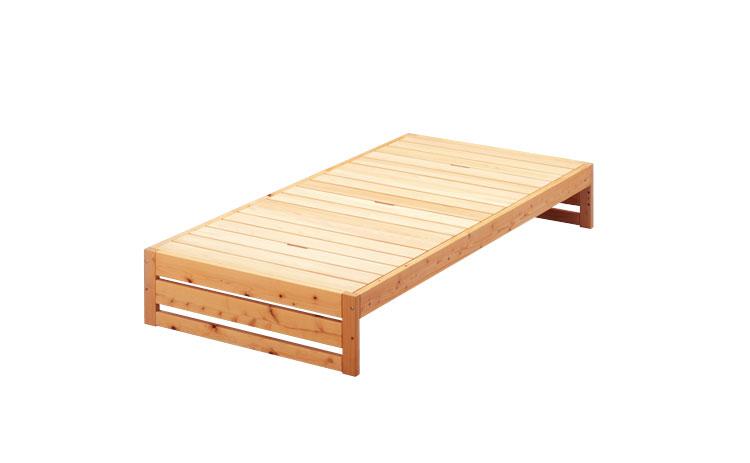ひのきのベッド フラット