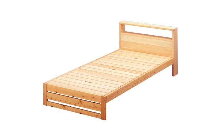 ひのきのベッド ヘッドボード