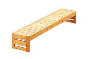 ひのきのベッド フラット デイベッド