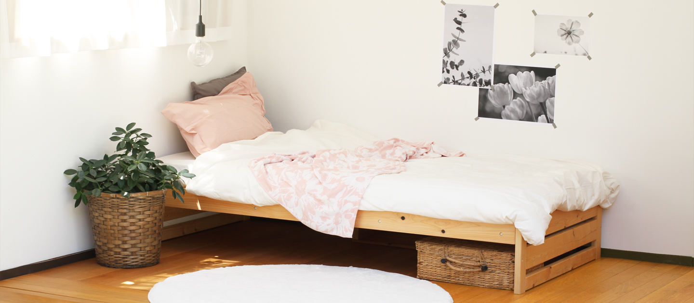 ひのきのベッドイメージ