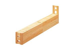 ひのきのベッド 収納ベンチ