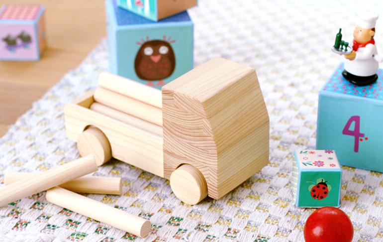 ティンバートラック あまり木おもちゃプロジェクト