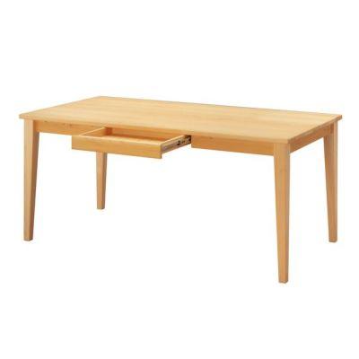 ダイニング テーブル 引出し付 ひのき