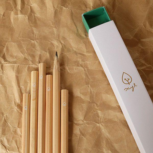 ステーショナリー 鉛筆 ひのき