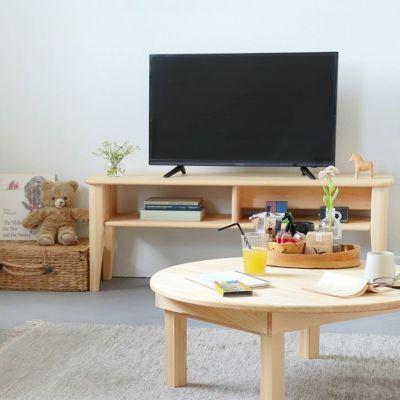 キッズスペースで使うテレビ台におすすめ<br>テレビボード F120 / ちゃぶ台 80