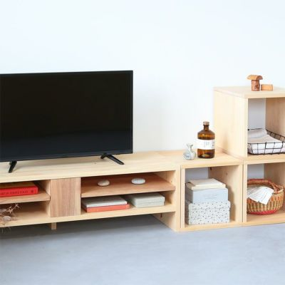 テレビボードNシリーズと気持ちよくフィット<br>waku / テレビボード N120