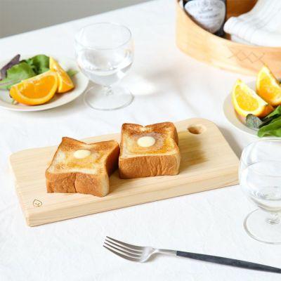 パンなどの朝食や軽食のトレイに<br>カッティングボード S