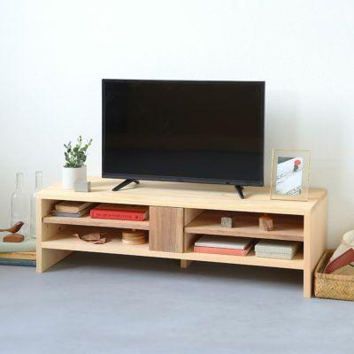 コンパクトながらも存在感を放つデザイン<br>テレビボード N120
