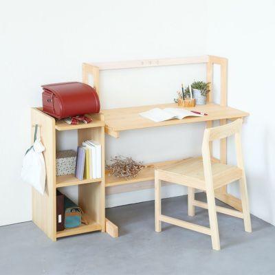 机横に置いて使いやすい学習スペースに<br>ランドセルシェルフ / nvovoデスク E100 / Fチェア
