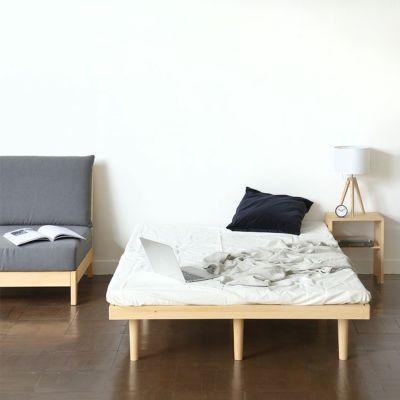 上質な家具に囲まれる、洗練された大人のベッドルーム<br>ベッドF フラット SD / ソファ S1.4 armless