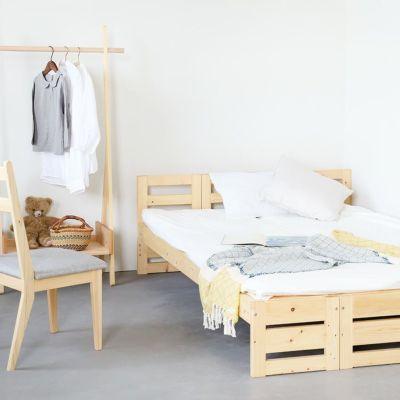 親子でゆったり眠れるベッドルーム<br>デイベッド スタンダード / ベッドM スタンダード<br>サクラハンガー / Gチェア basic color(撥水グレー)