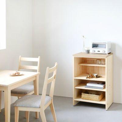 省スペースイメージ<br>キッチンカウンター C60(くるみ)<br>ダイニングテーブル -EASY ORDER-<br>Gチェア basic color(撥水グレー)